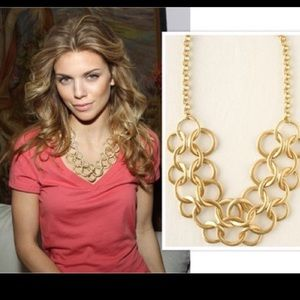 Stella & Dot Jewelry - Vintage link gold plated necklace
